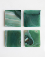 Large Tray in Green Agate