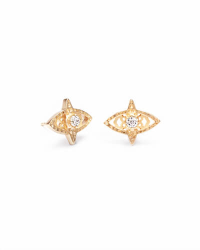 Crosby Stud Earrings in Gold