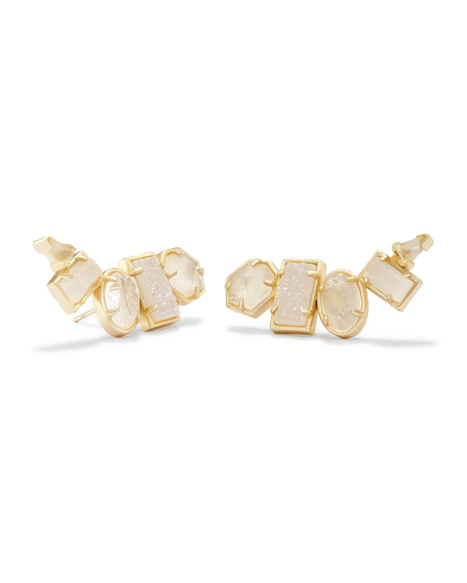 Frankie Ear Climbers in Gold