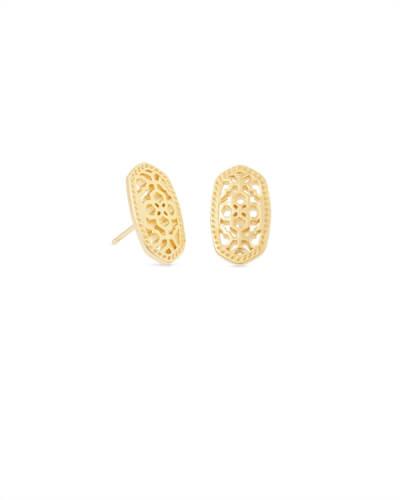 Elisa Pendant Necklace In Gold Filigree Kendra Scott