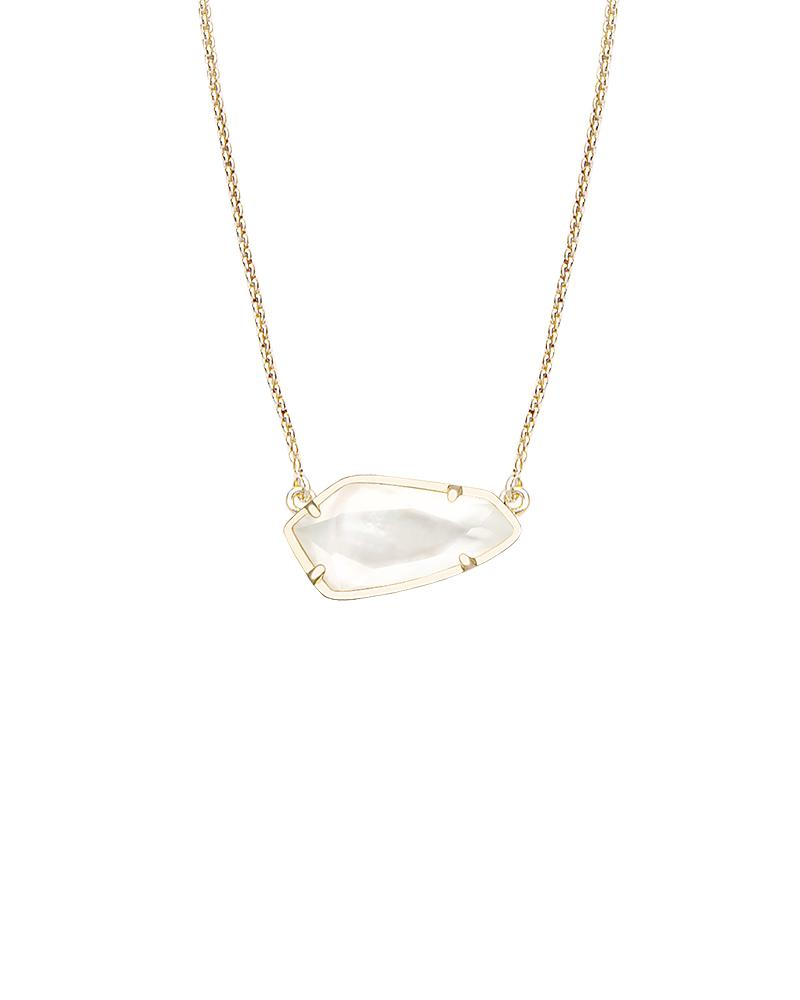 Cami Necklace in Ivory Pearl
