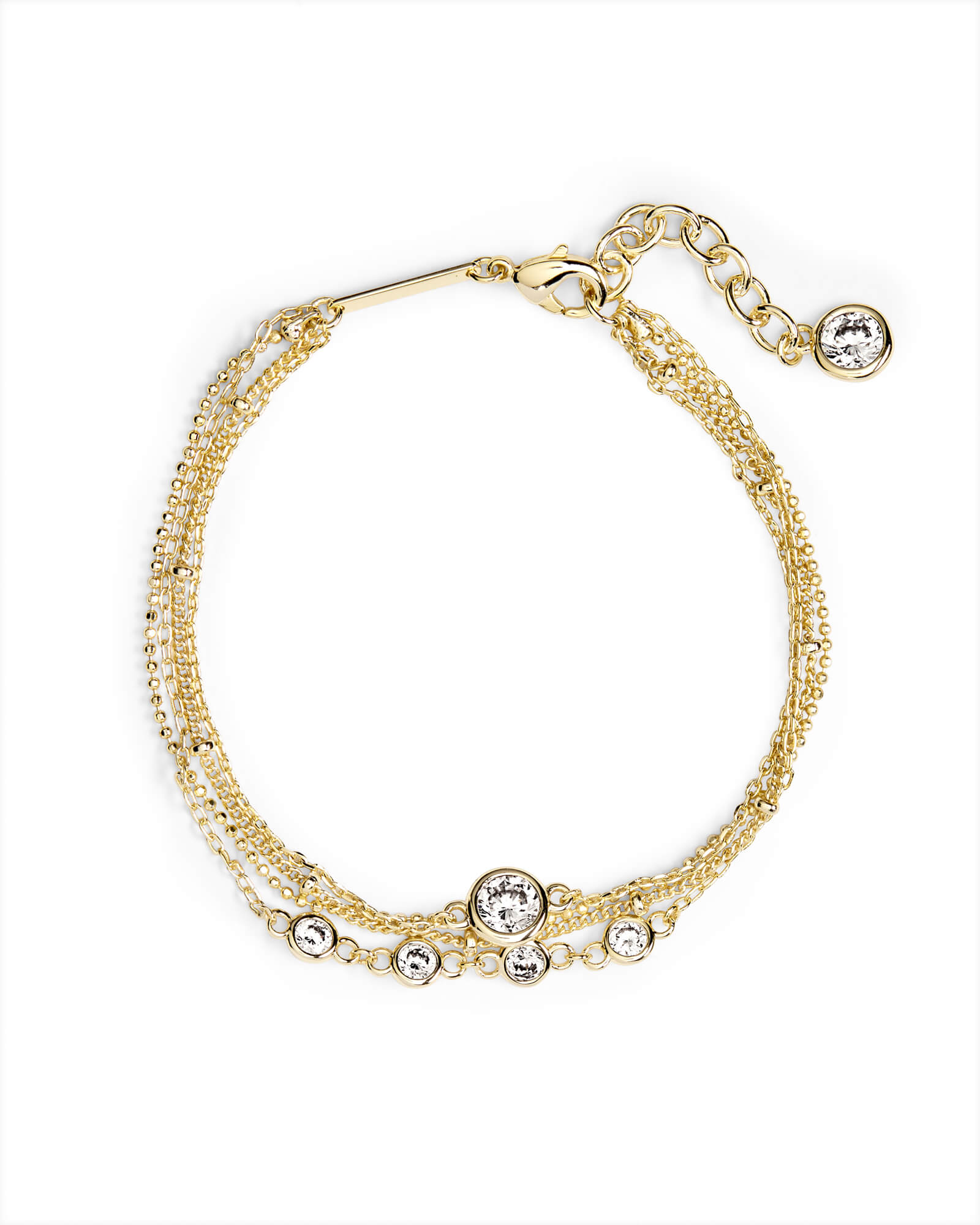 Capri Chain Bracelet in Gold