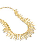 Cici Statement Necklace in Gold