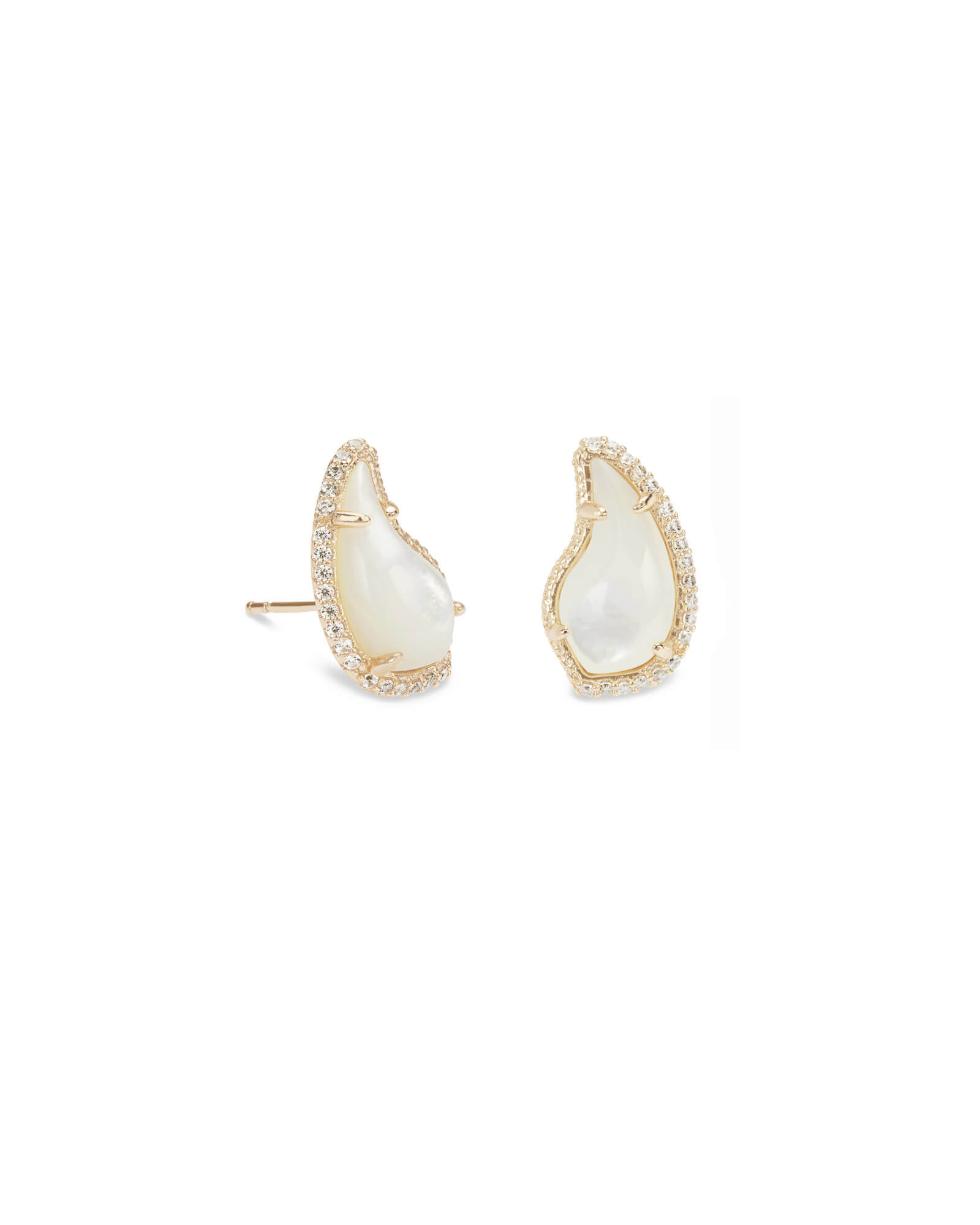 Temple Stud Earrings