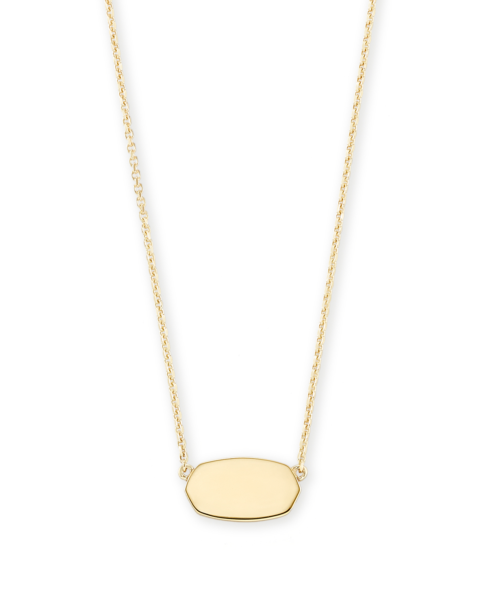 Elisa Pendant Necklace in 18k Gold Vermeil