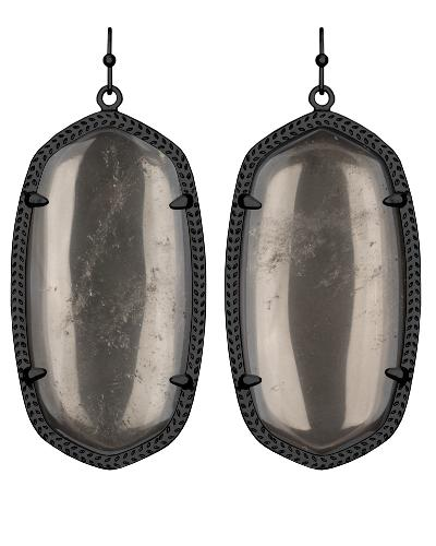 Danielle Earrings in Mirror Rock Crystal