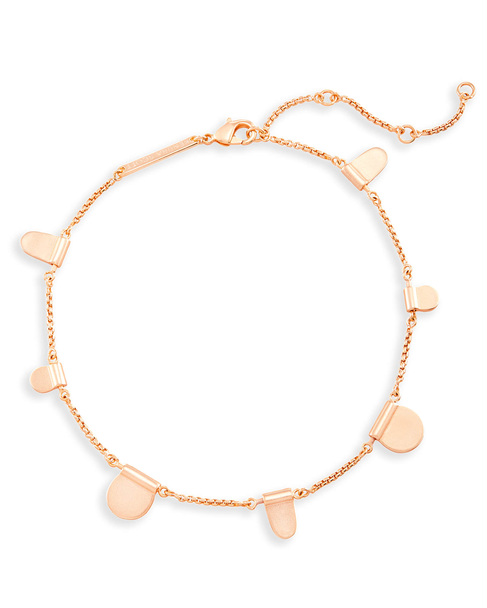 starfish eve s anklet in addiction vermeil gold rose