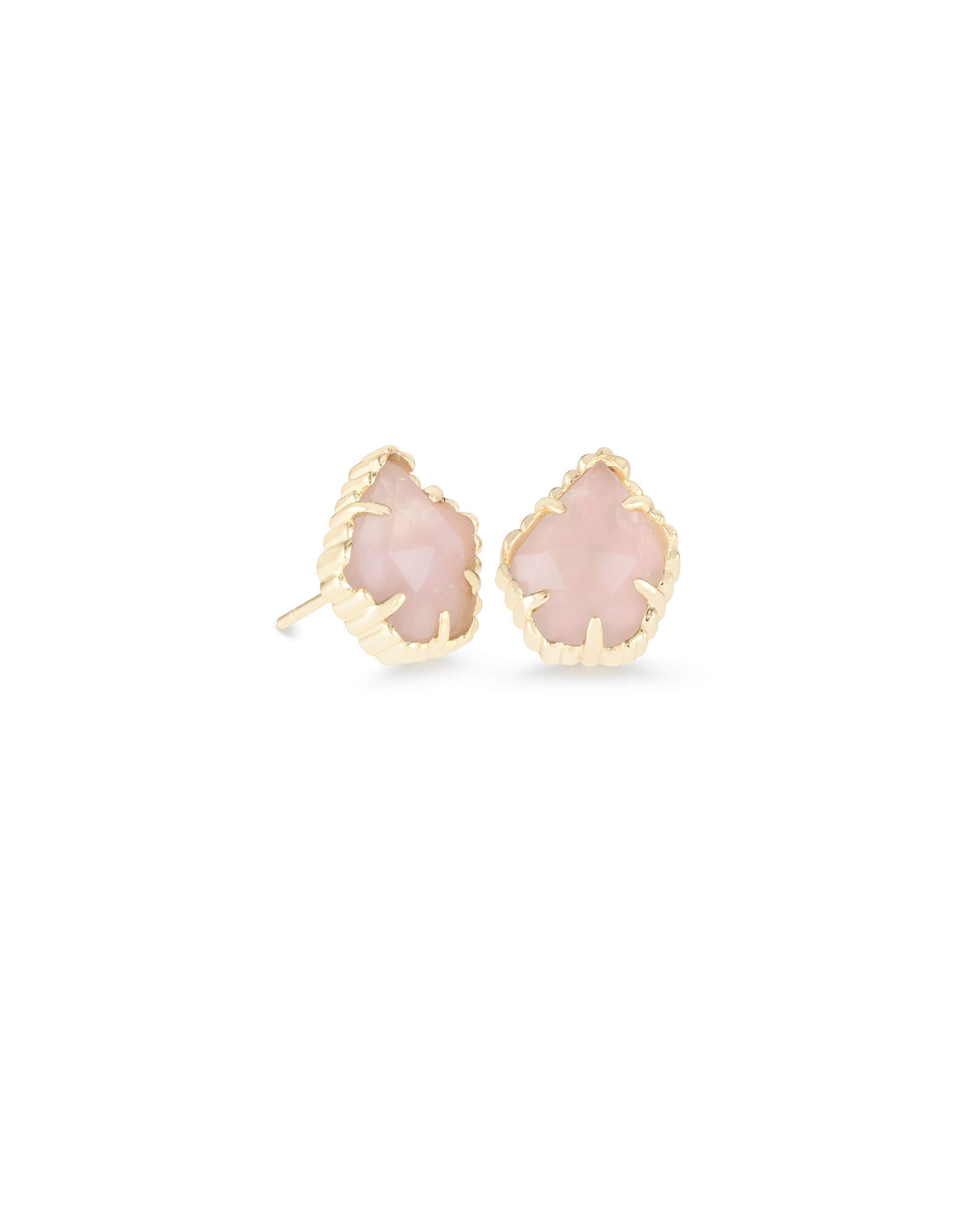 kendra earrings studs tessa gold stud earrings in quartz kendra 722