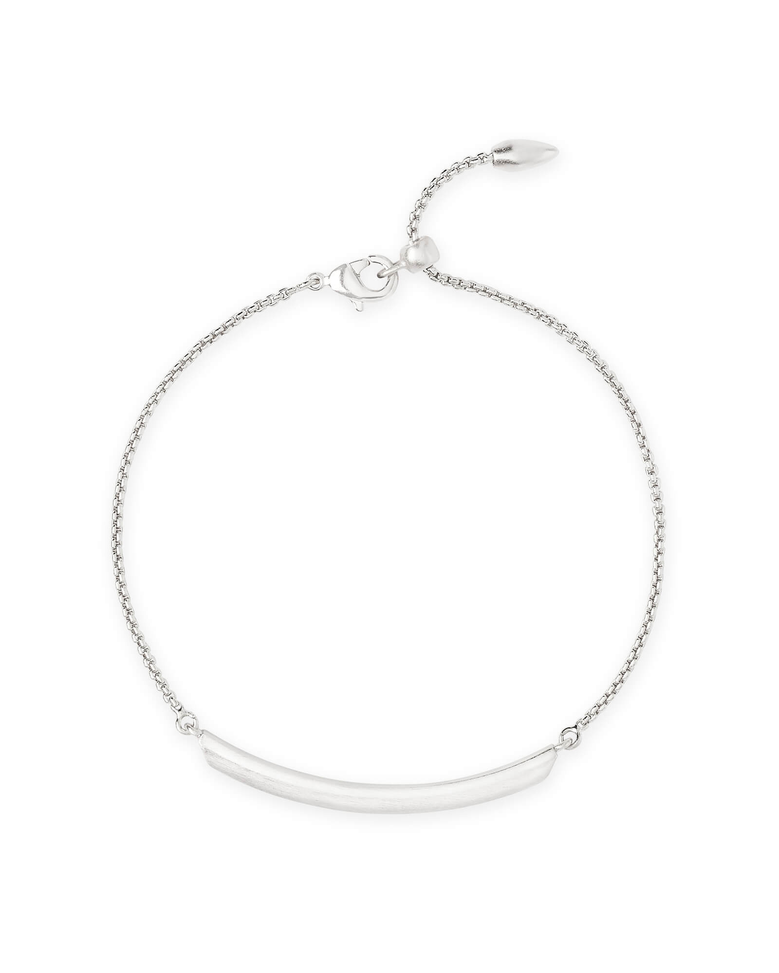 Eloise Ann Chain Bracelet in Bright Silver