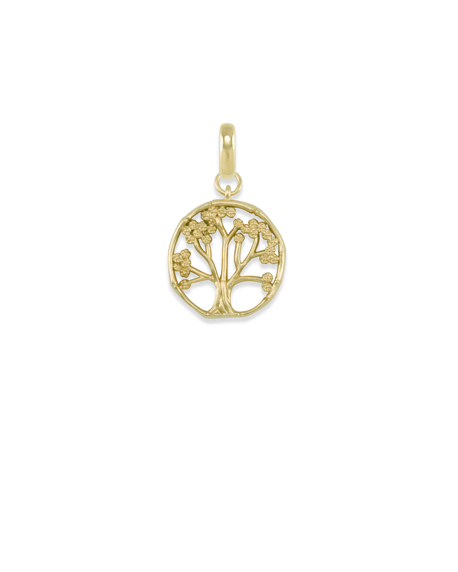 Cherry Blossom Tree Charm in Gold