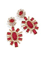 Glenda Statement Earrings