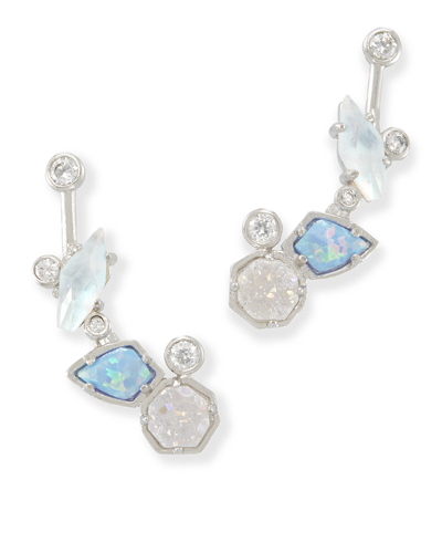 Troian Ear Climbers in Tranquil from Kendra Scott Product Image
