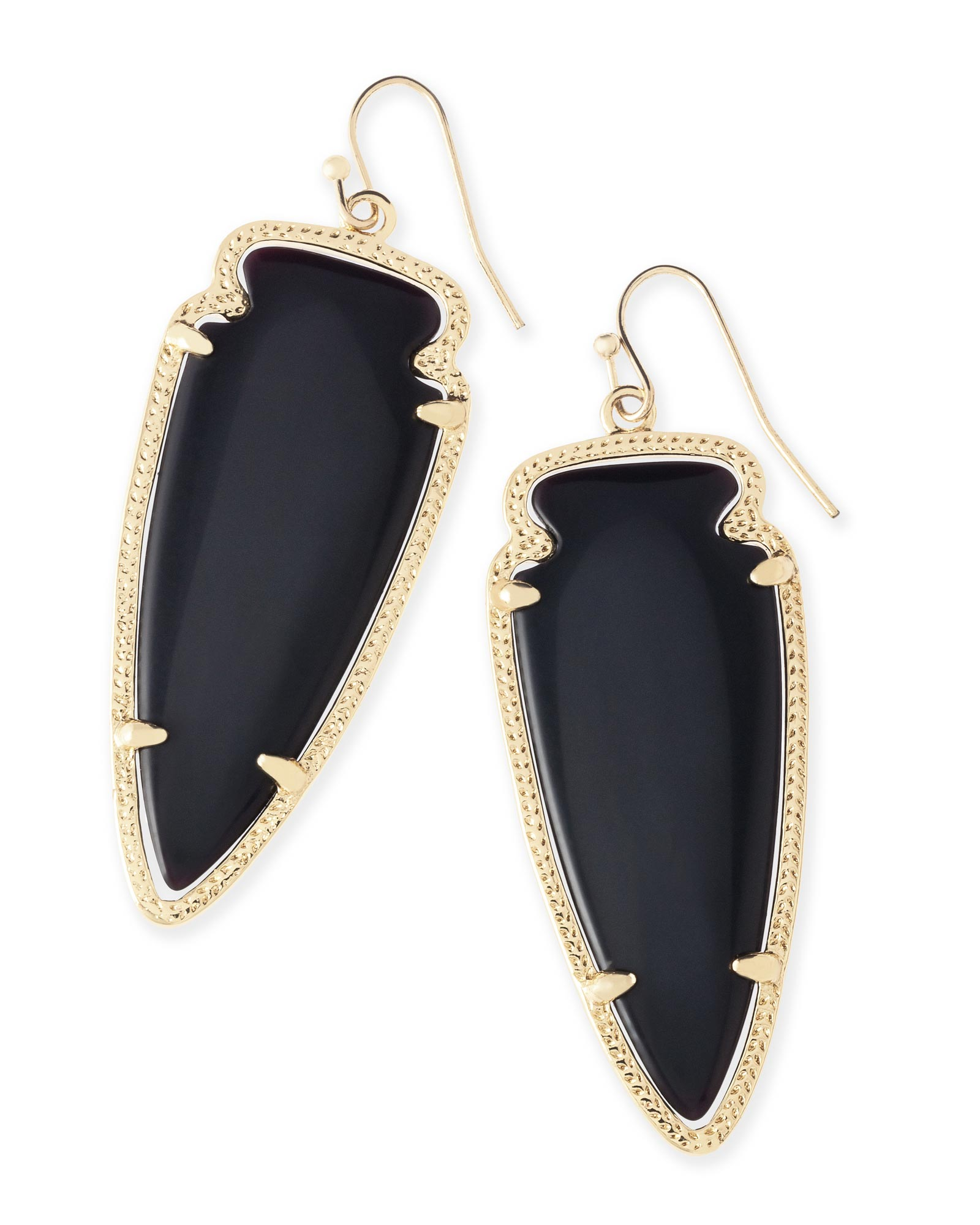 Skylar Earrings in Black