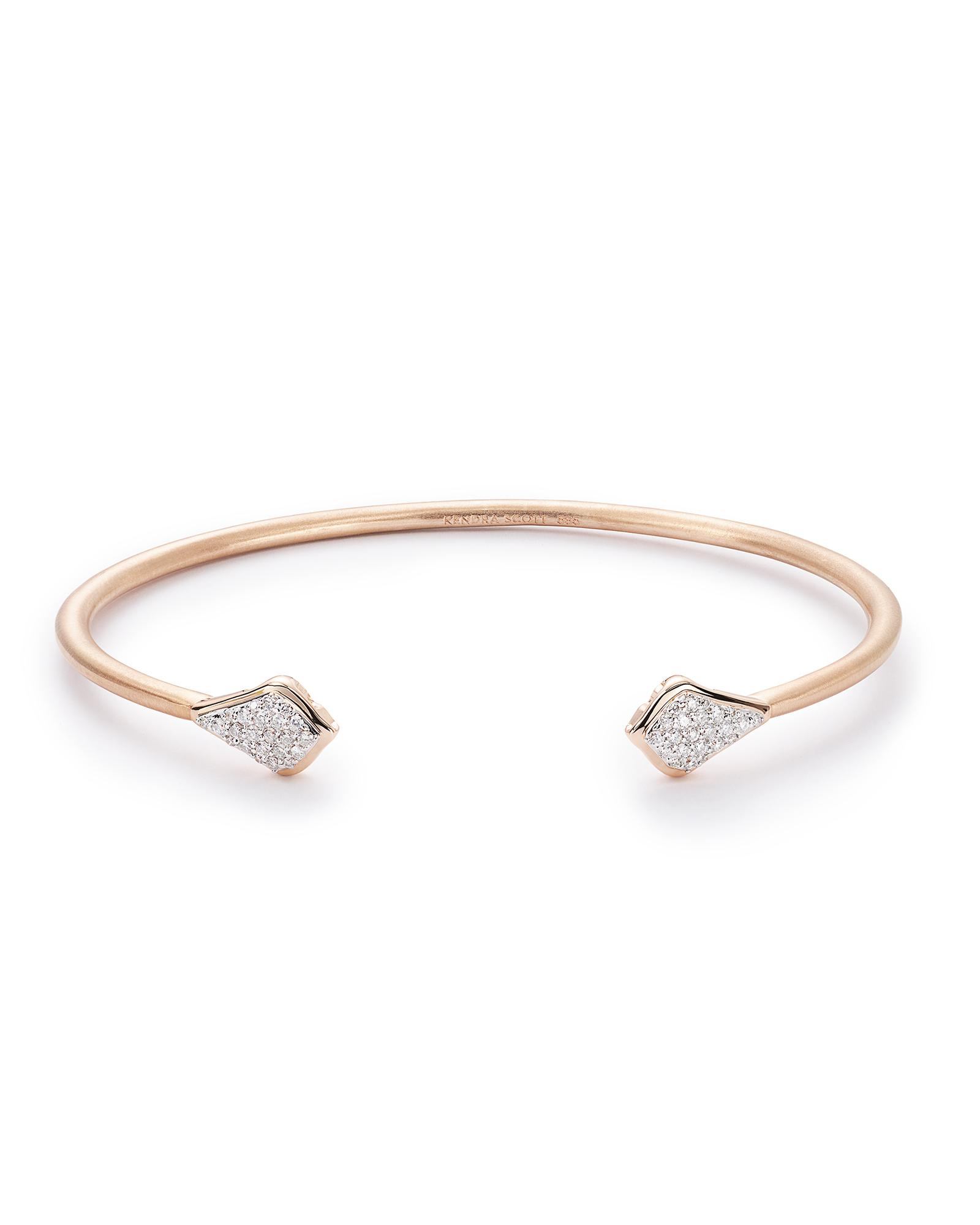 stretch bangle bangles cherished gold pendent original filled by product rose bracelet oh version ohsocherished so