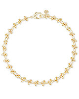 Presleigh Choker Necklace in Gold