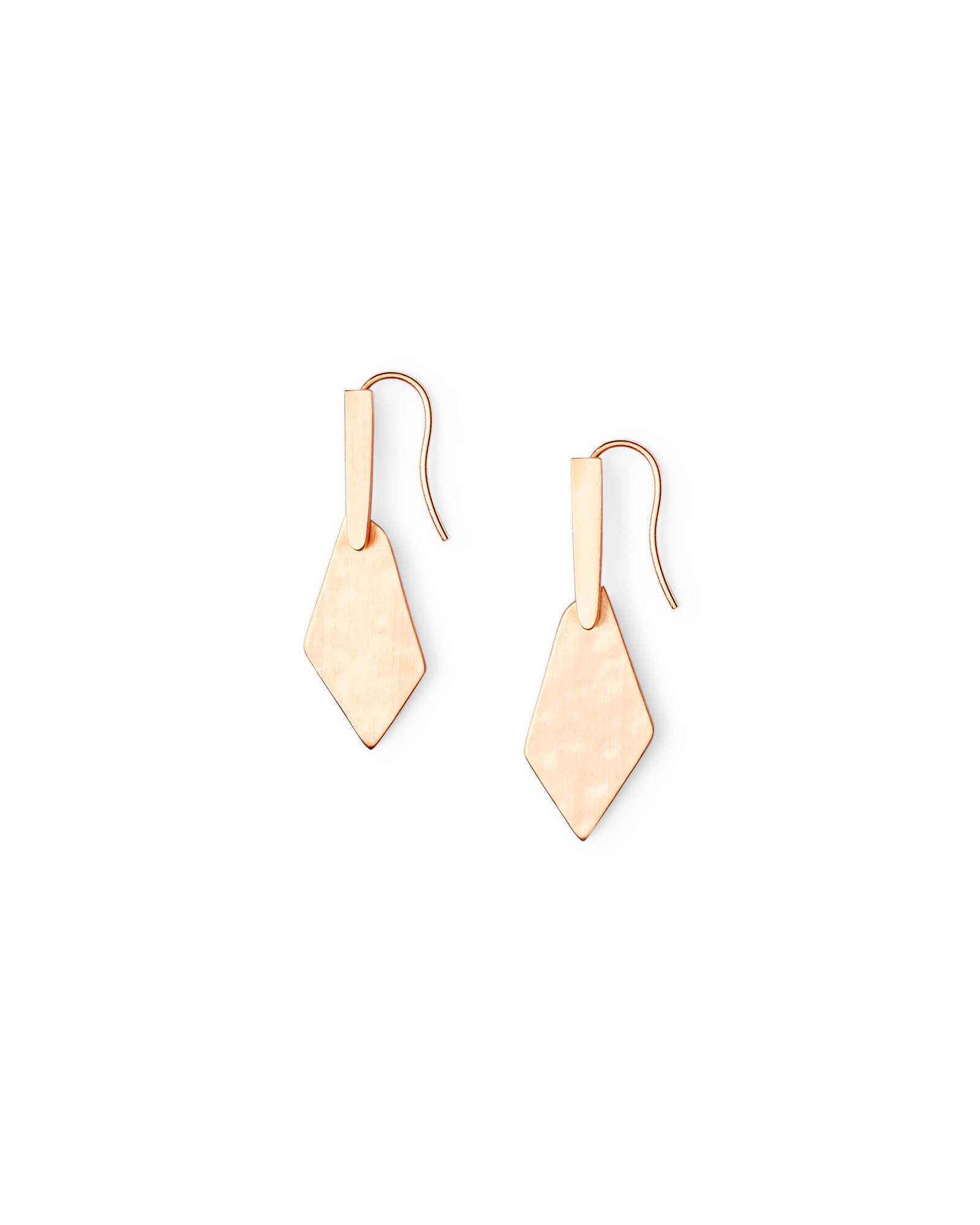 Gianna Drop Earrings in Rose Gold