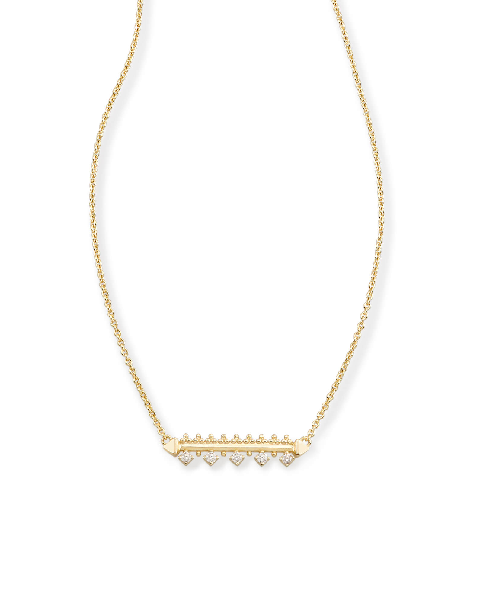 Anissa Bar Pendant Necklace