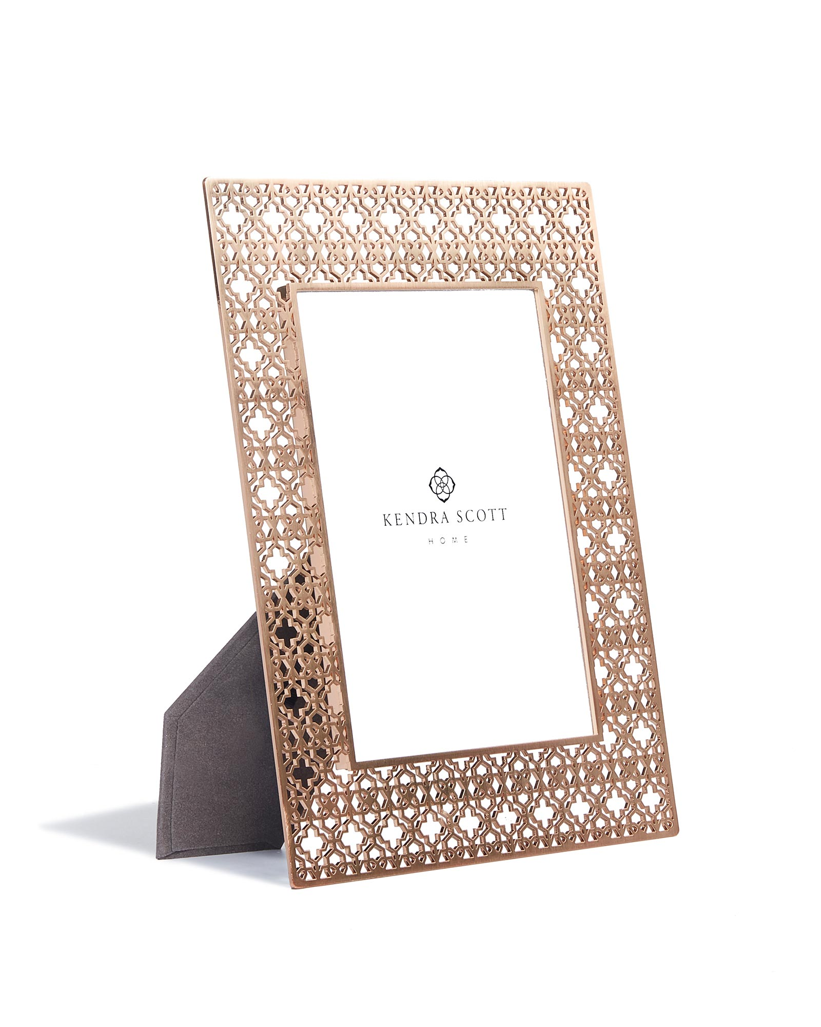 Filigree Photo Frame 5x7 in Rose Gold | Kendra Scott