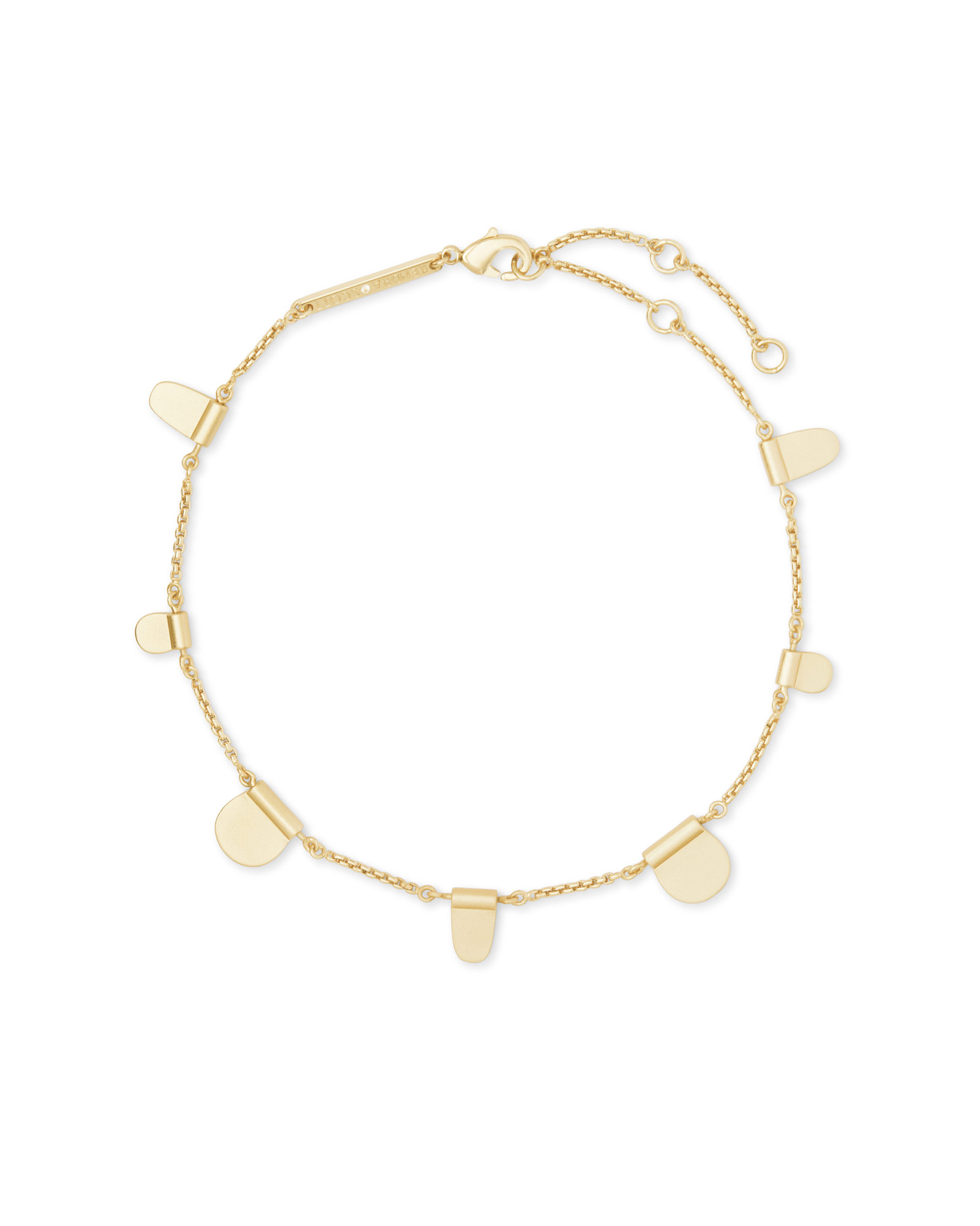 Tabi Anklet in Gold