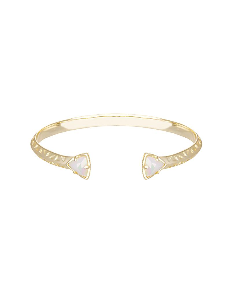Grady Bracelet in White Iridescent