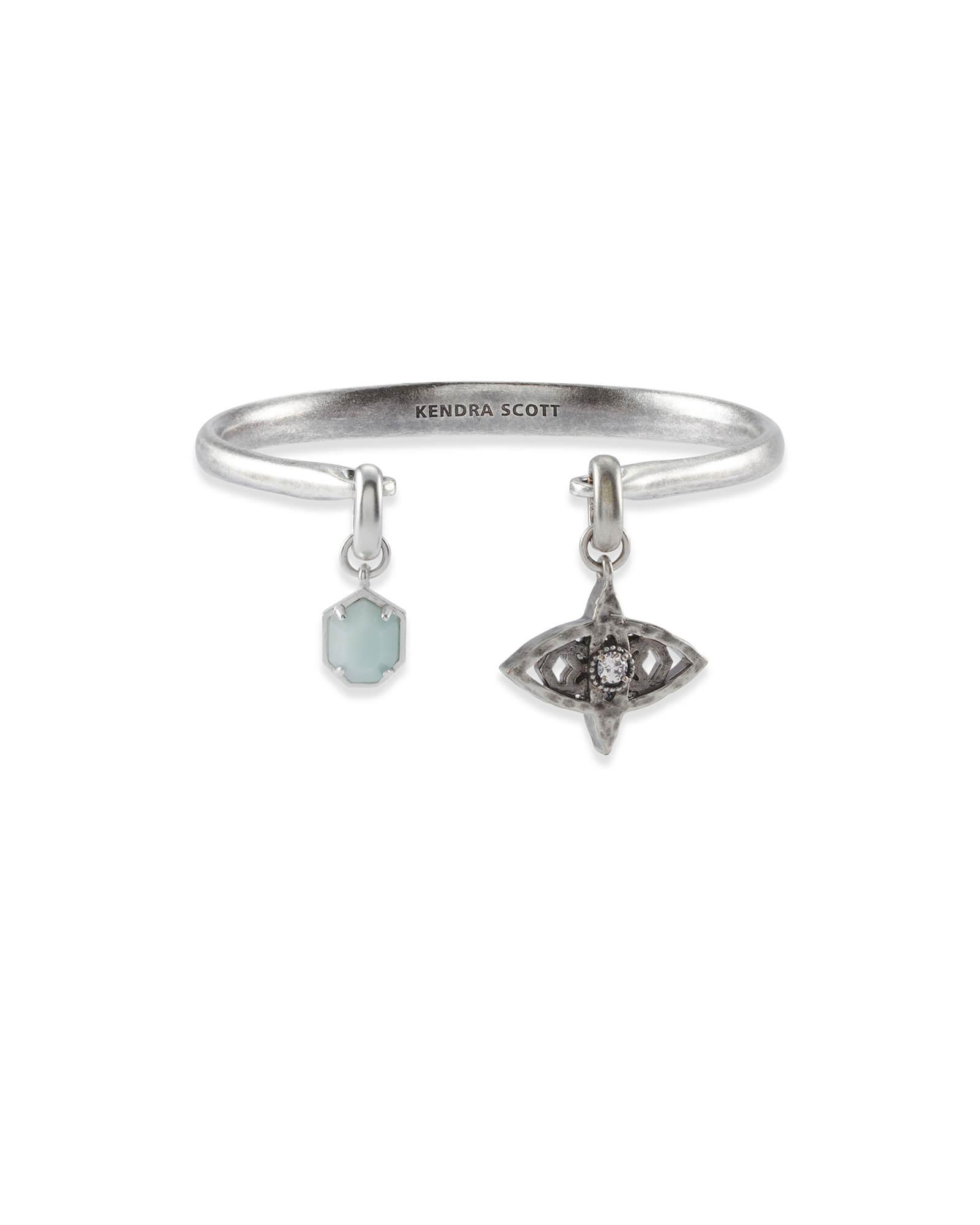 84c3bbe84dc Good Fortune Charm Bracelet Set in Vintage Silver | Kendra Scott