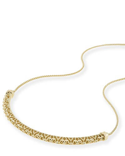 Lucy Choker Necklace in Gold