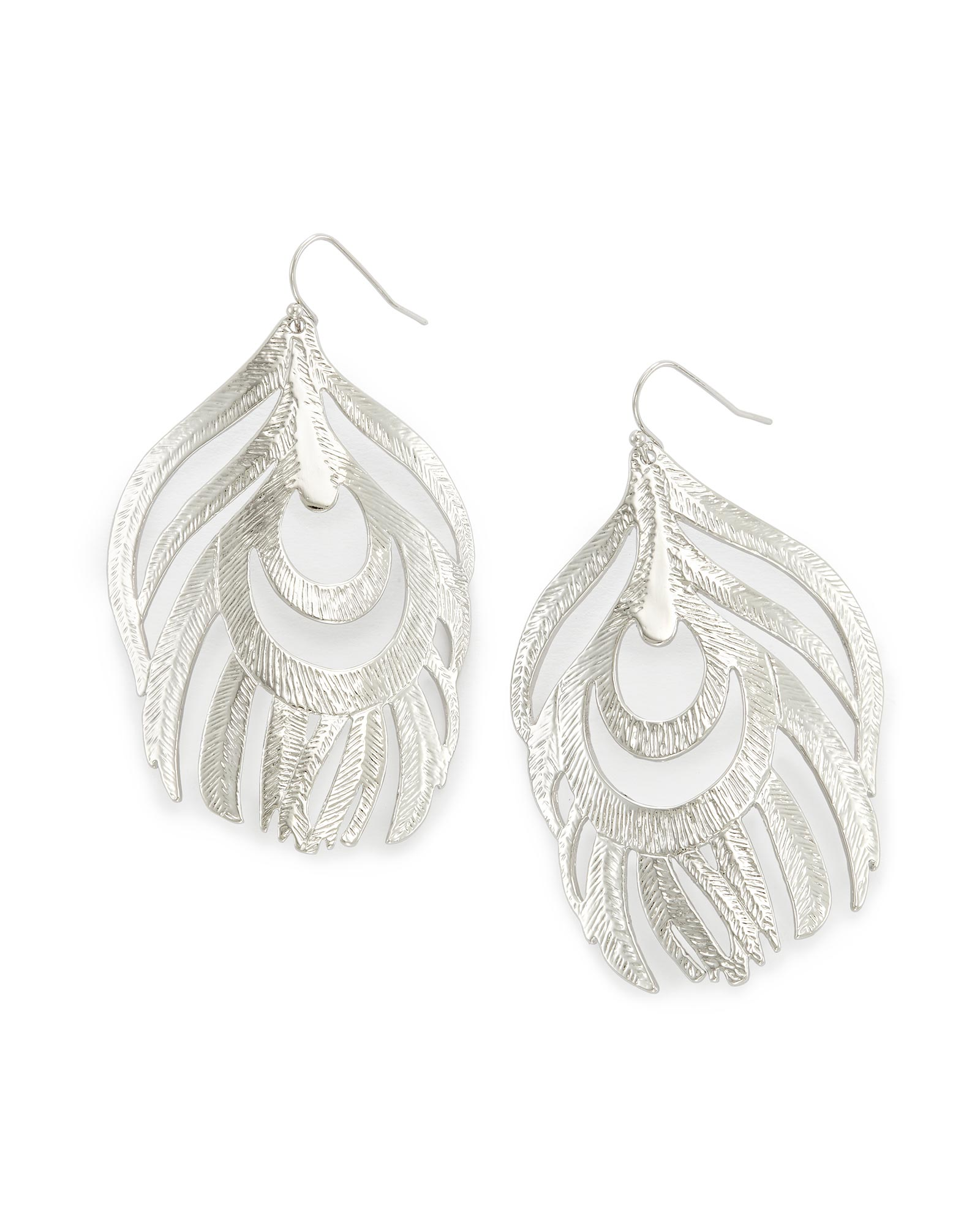 Karina Statement Earrings In Silver Kendra Scott Jewelry