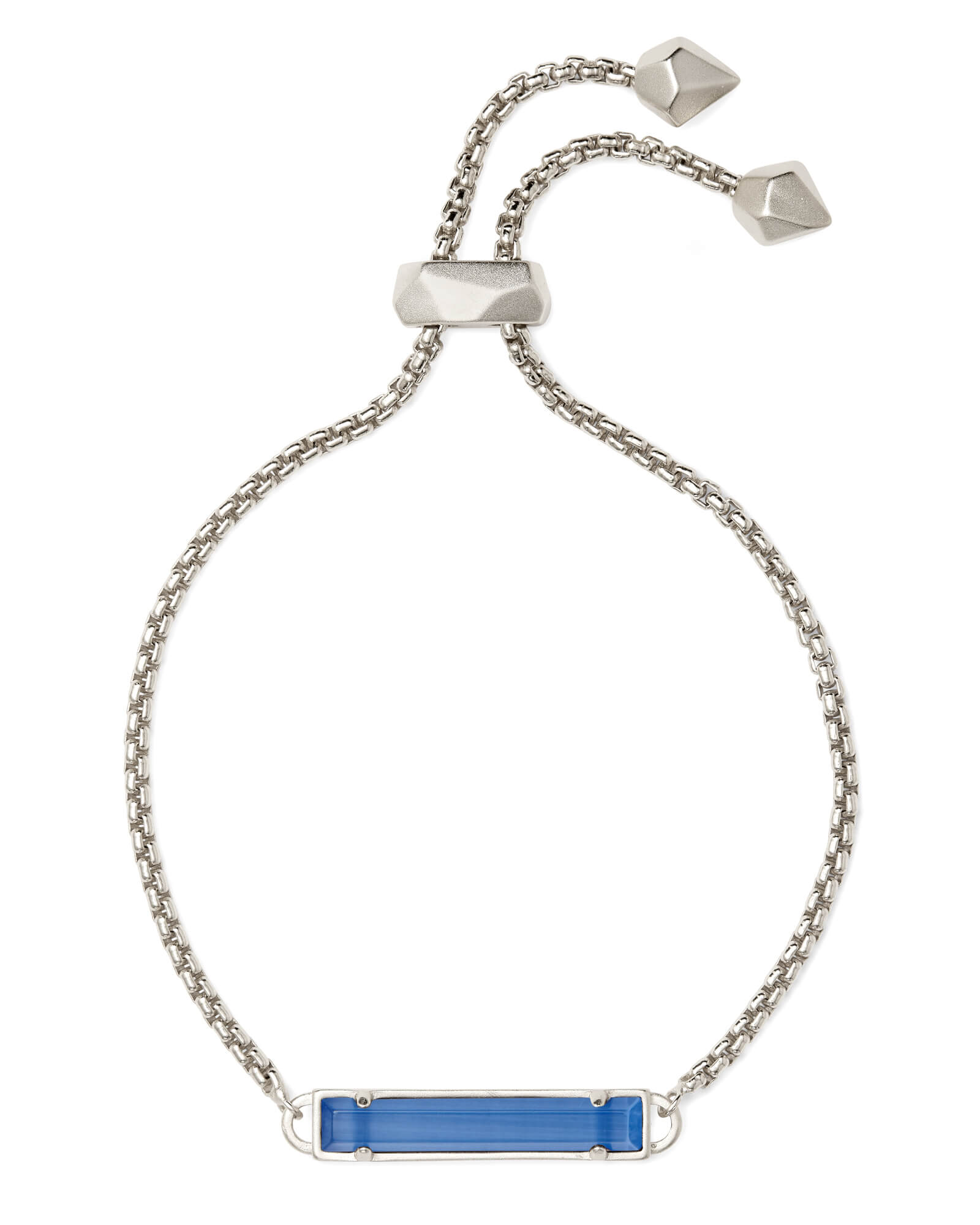 da6bcda17 Stan Silver Chain Bracelet In Periwinkle Cats Eye| Kendra Scott