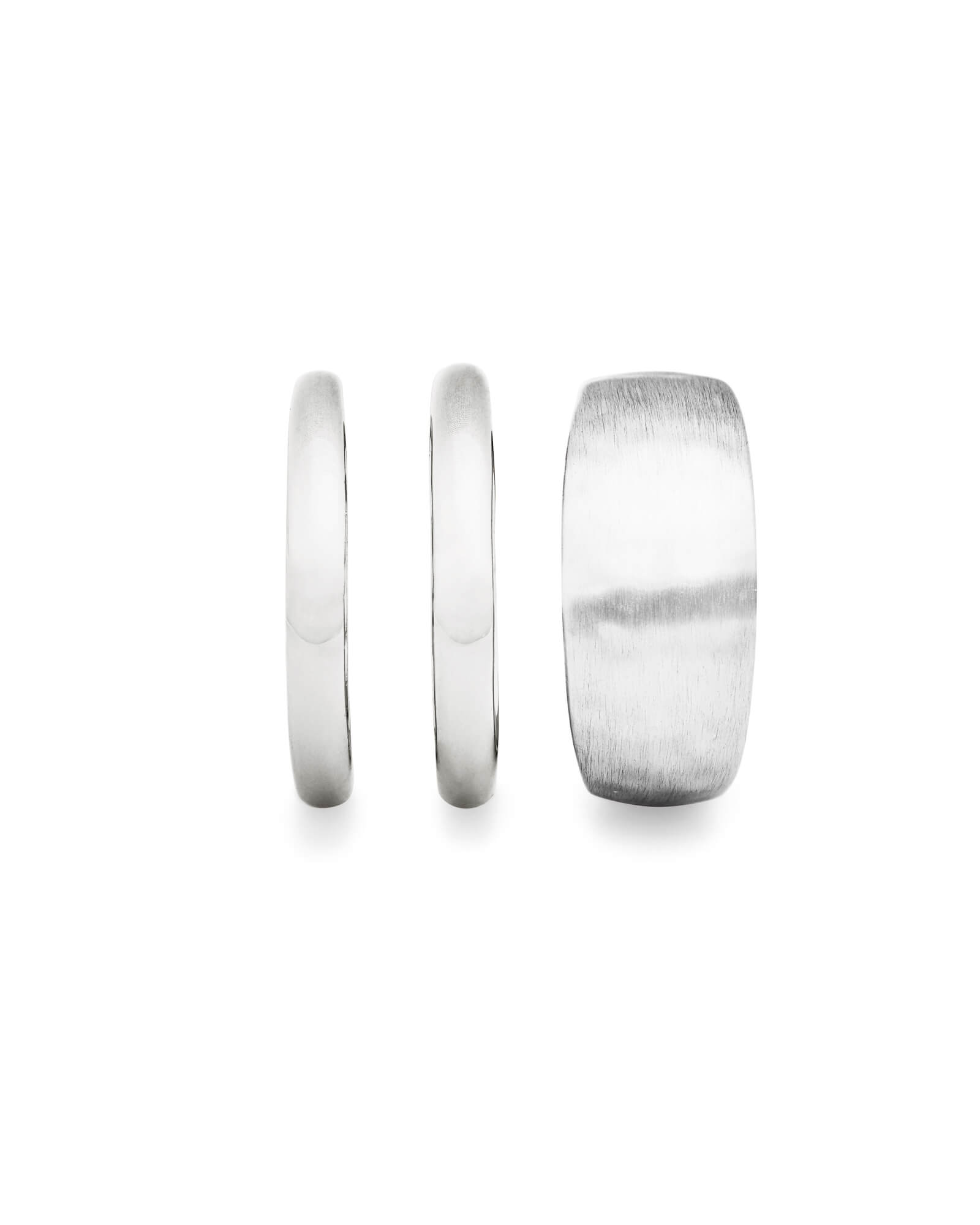 Terra Ring Set in Bright Silver