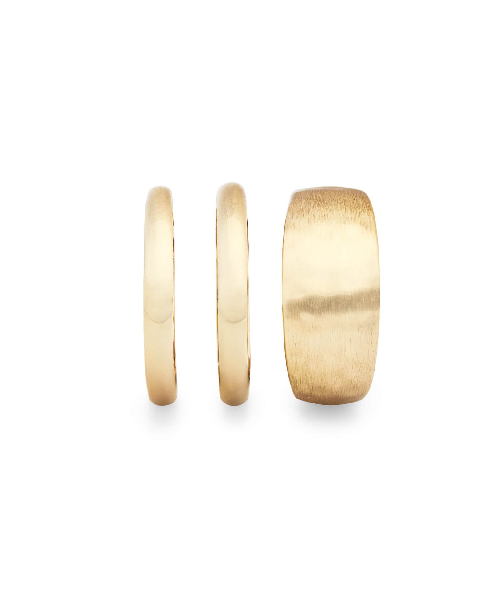 Terra Ring Set in Gold