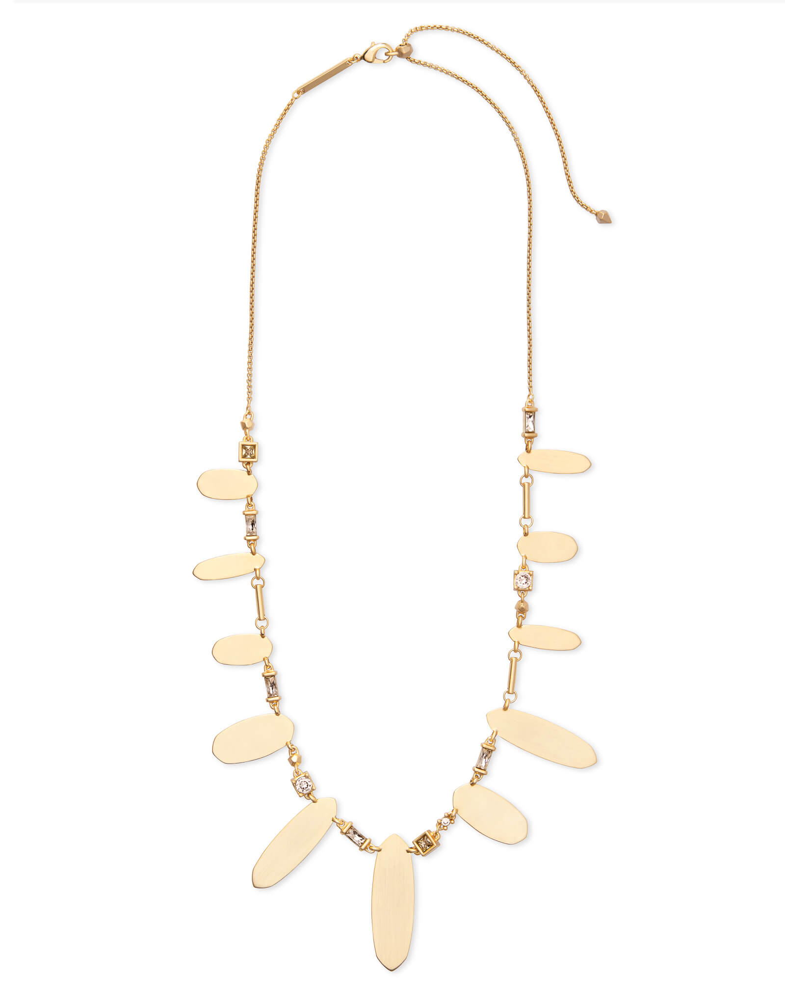 Airella Gold Choker Necklace in Smoky Mix