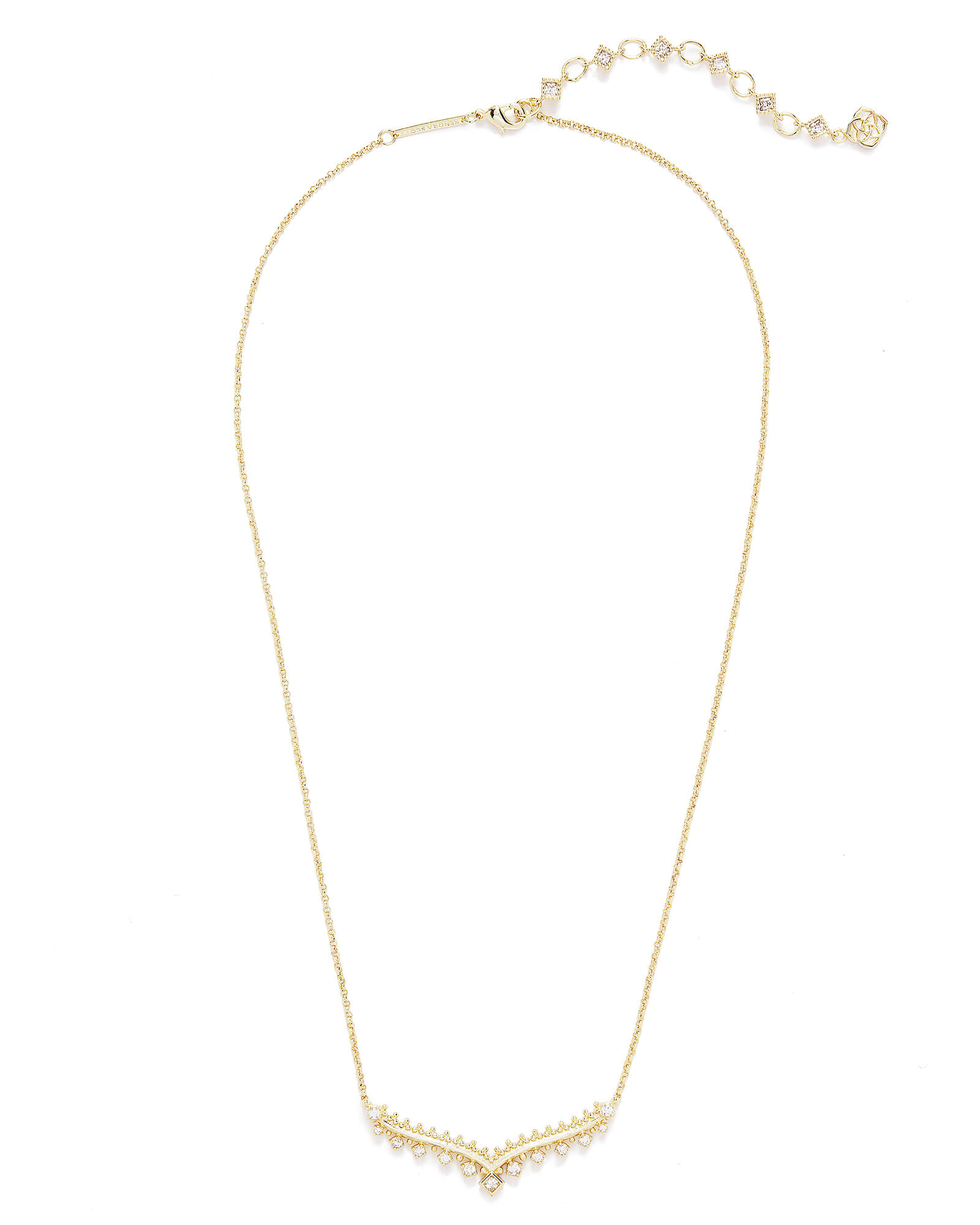 Vern Pendant Necklace in Gold