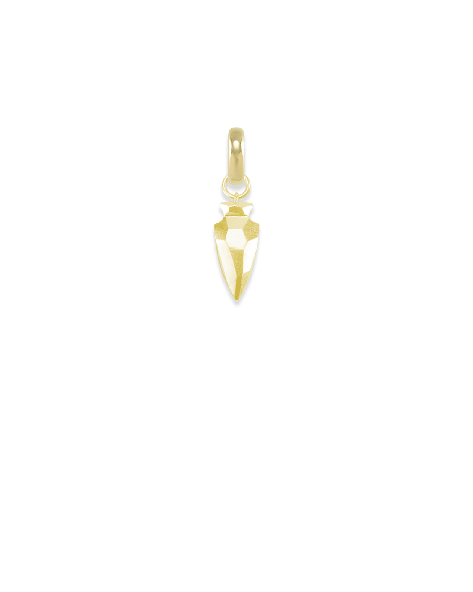Missouri Arrowhead Charm in Gold