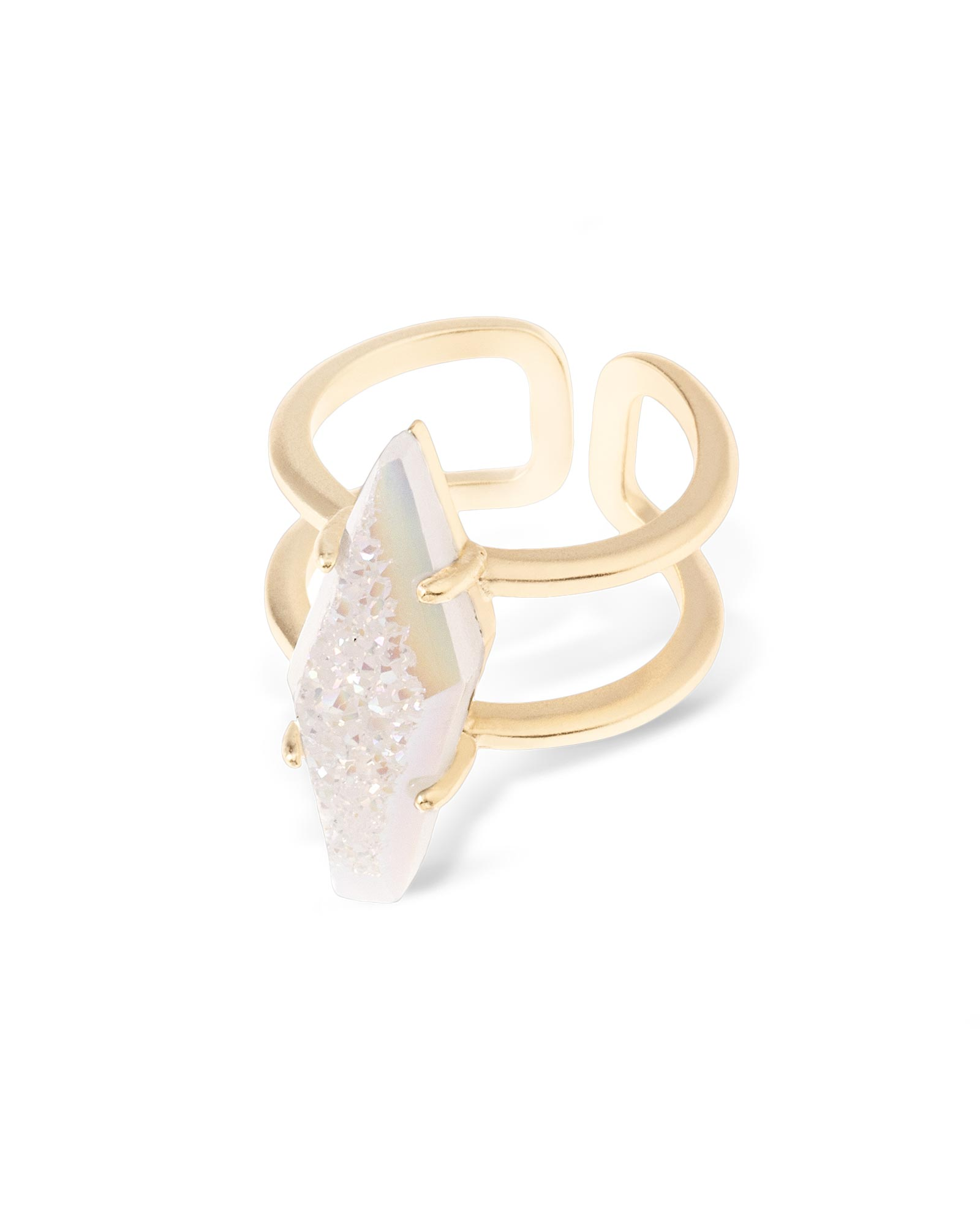 Boyd Cocktail Ring in Iridescent Drusy SM Kendra Scott