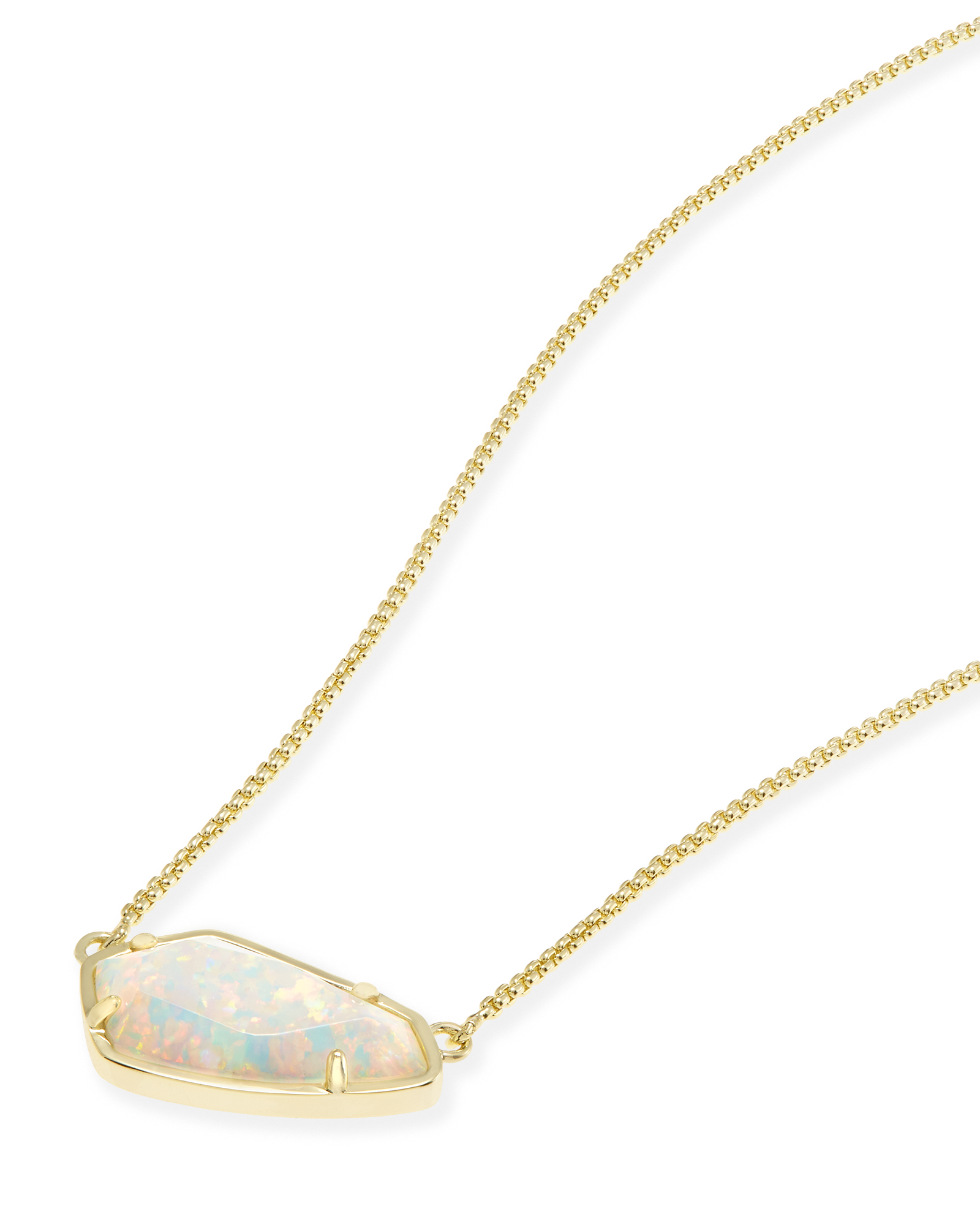 Cami Pendant Necklace in Gold
