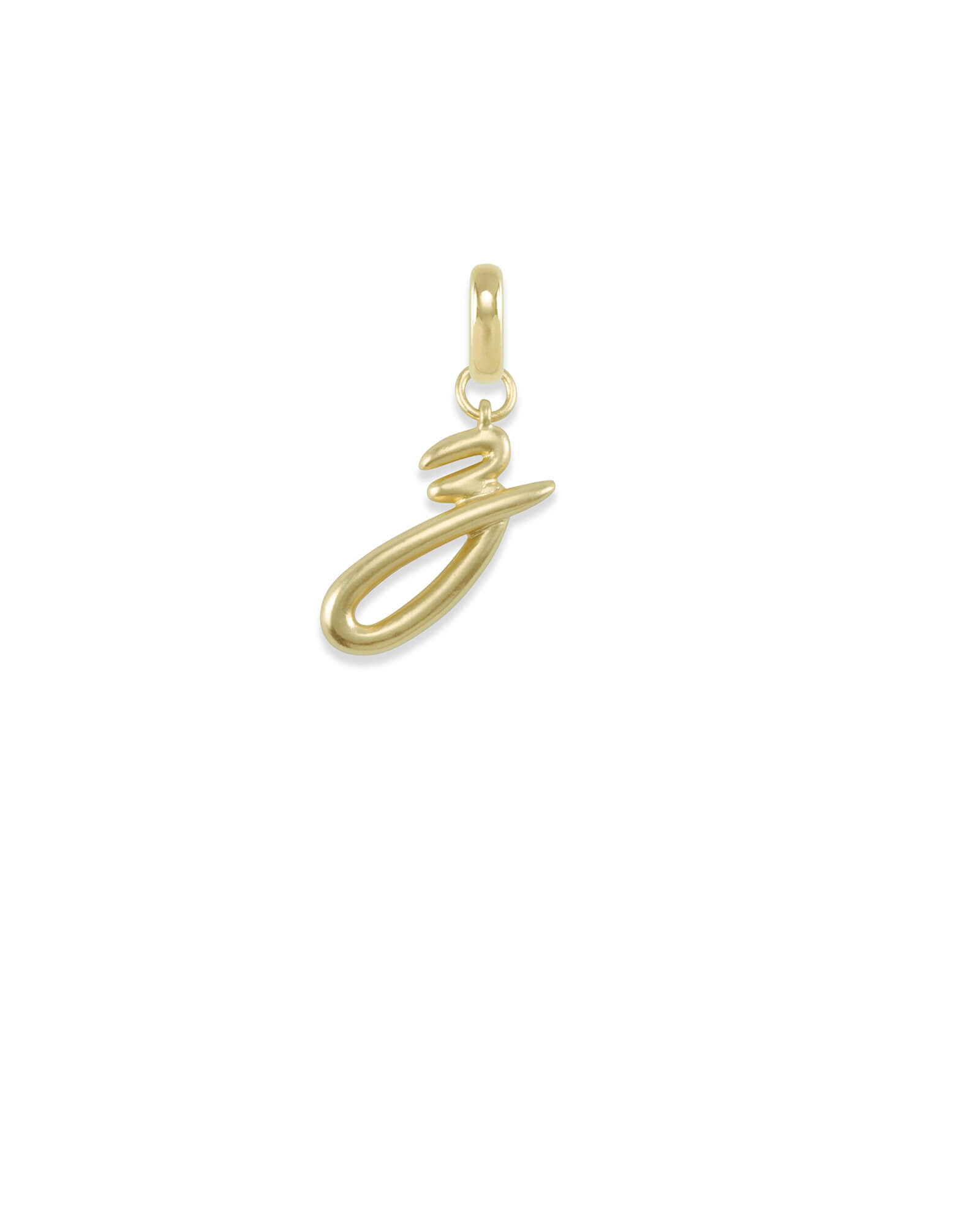 Letter Z Charm in Gold