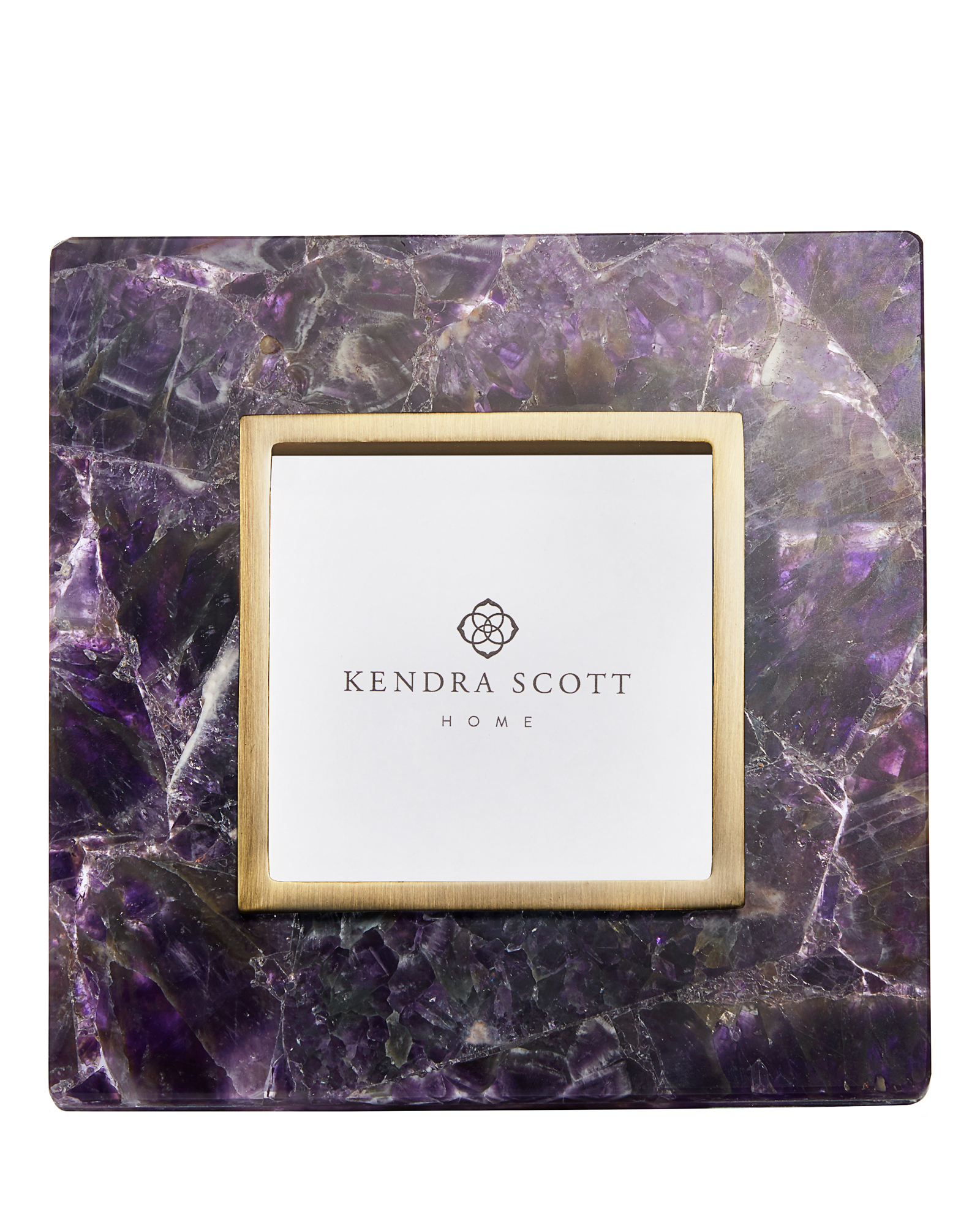 Picture Frames in Purple Amethyst Chevron | Kendra Scott