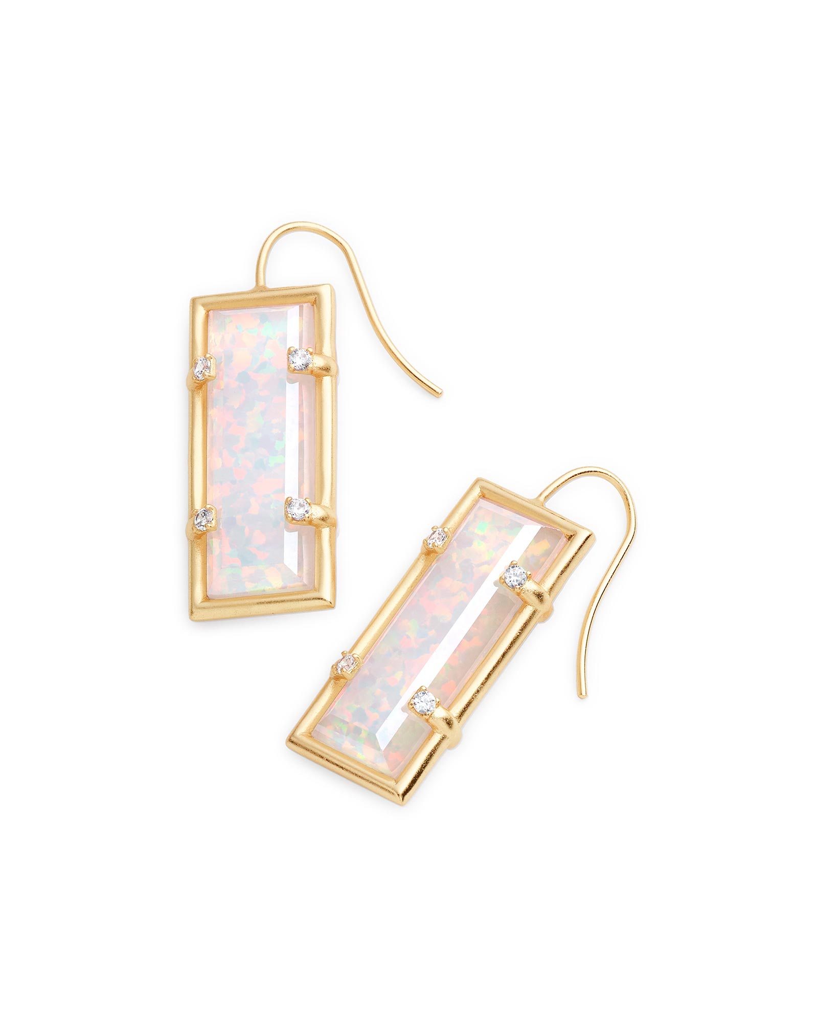 Knox Drop Earrings in Gold
