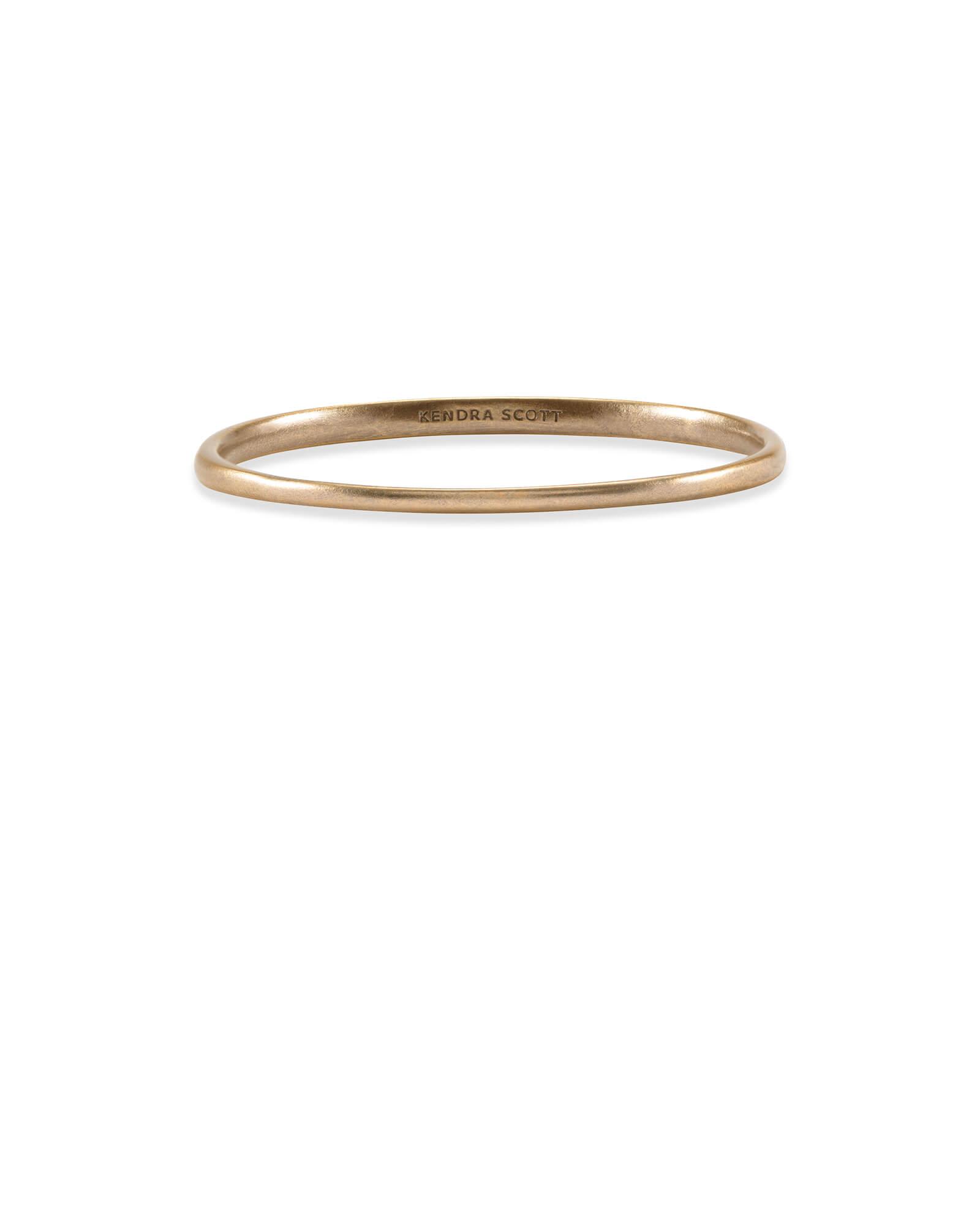 c9afd861fda4a Graduated Bangle Bracelet in Vintage Gold | Kendra Scott
