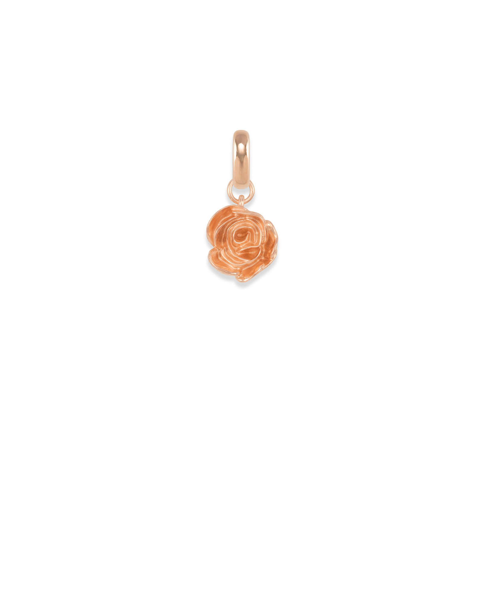 Women Empowerment Charm in Rose Gold