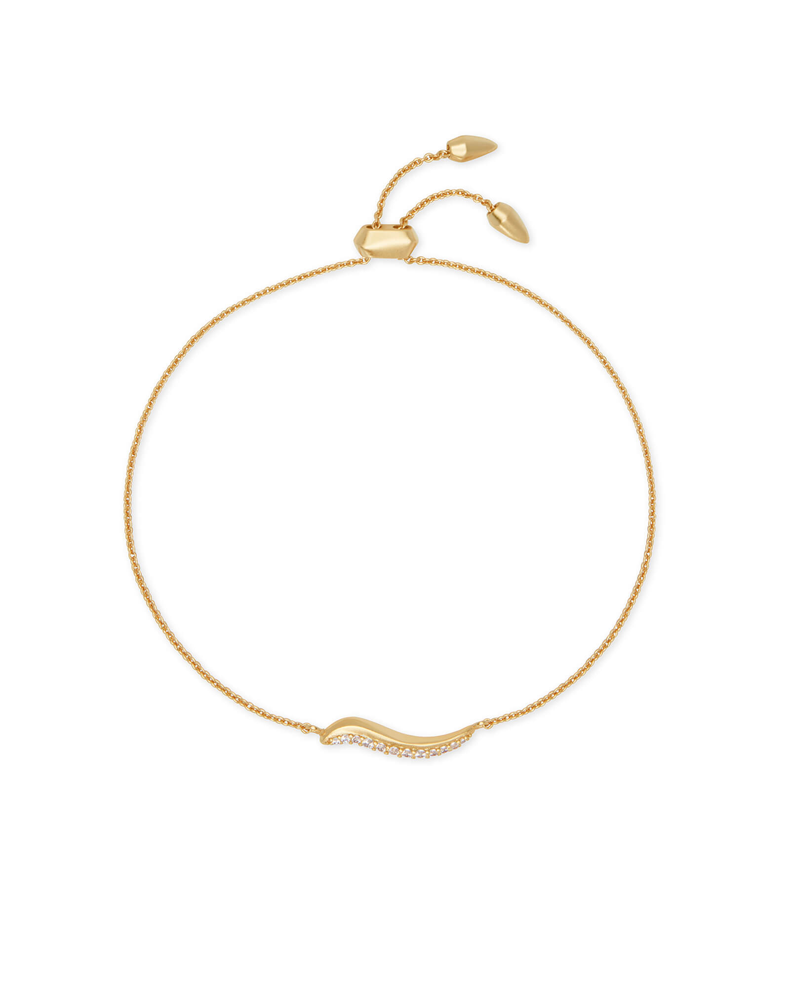 Jemmina Chain Bracelet in Gold
