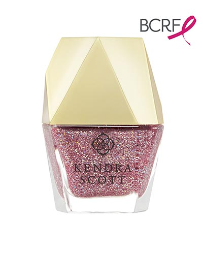 Light Pink Drusy Nail Lacquer