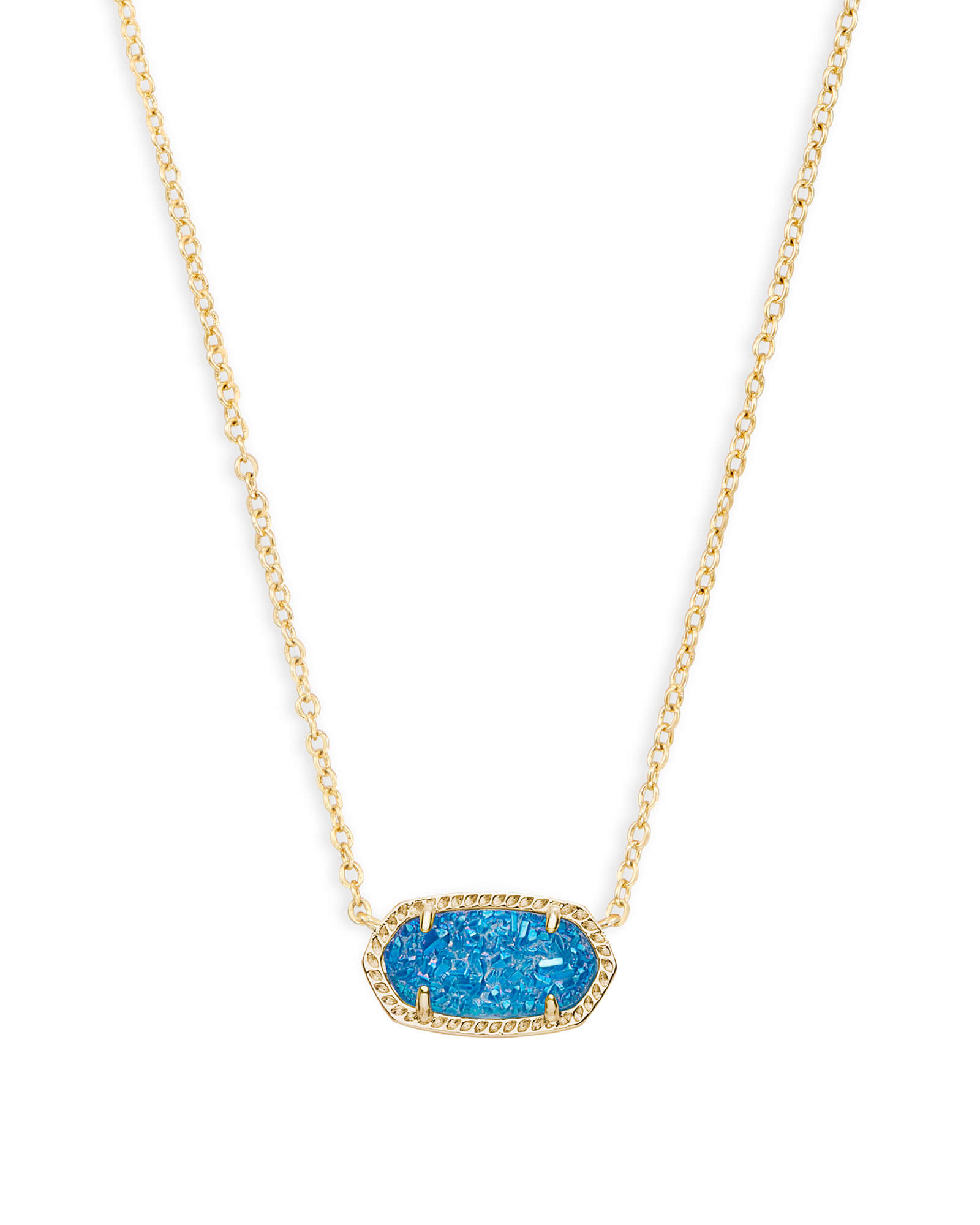 Elisa pendant necklace gold silver rose gold kendra scott aloadofball Image collections