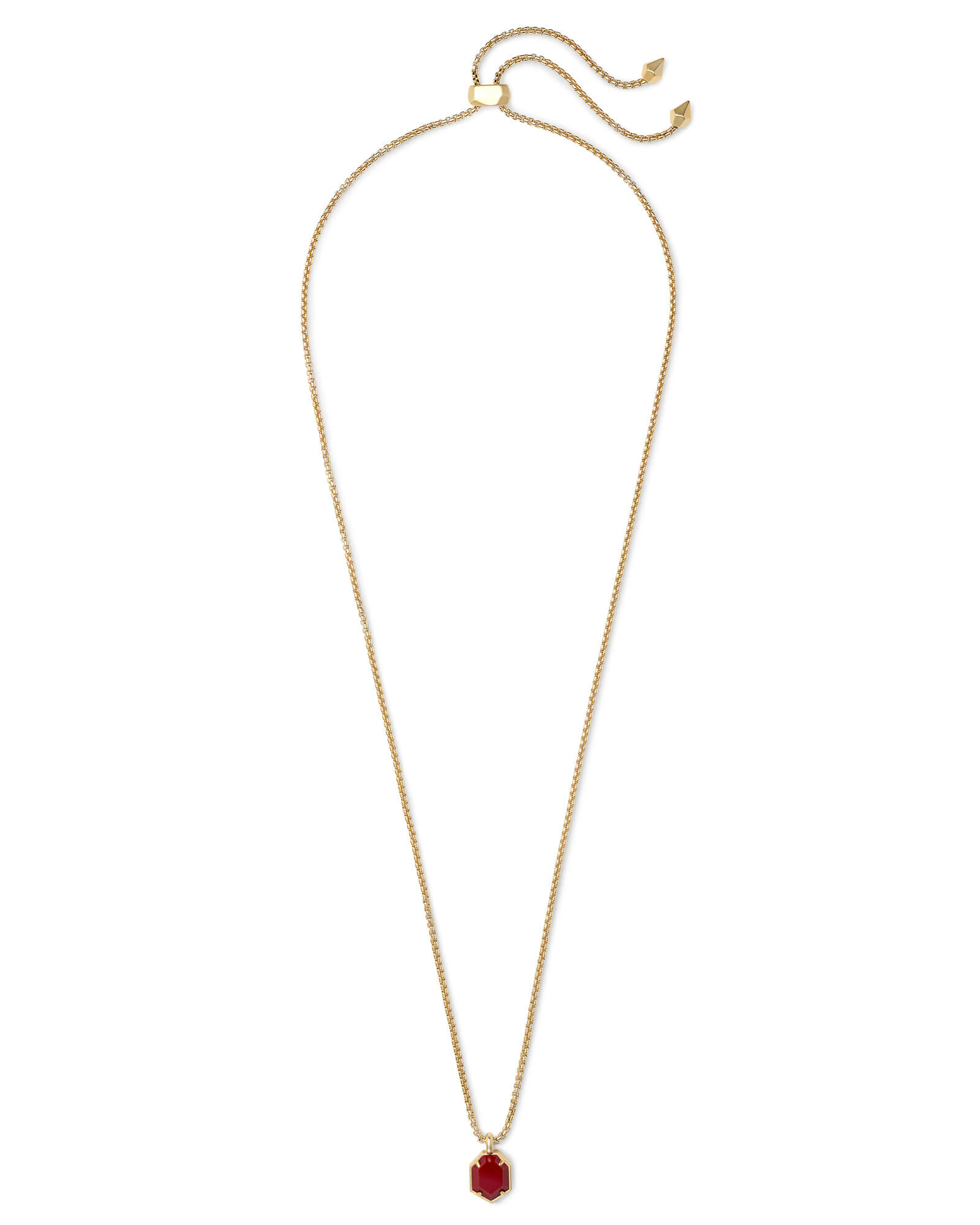 Teo Gold Pendant Necklace