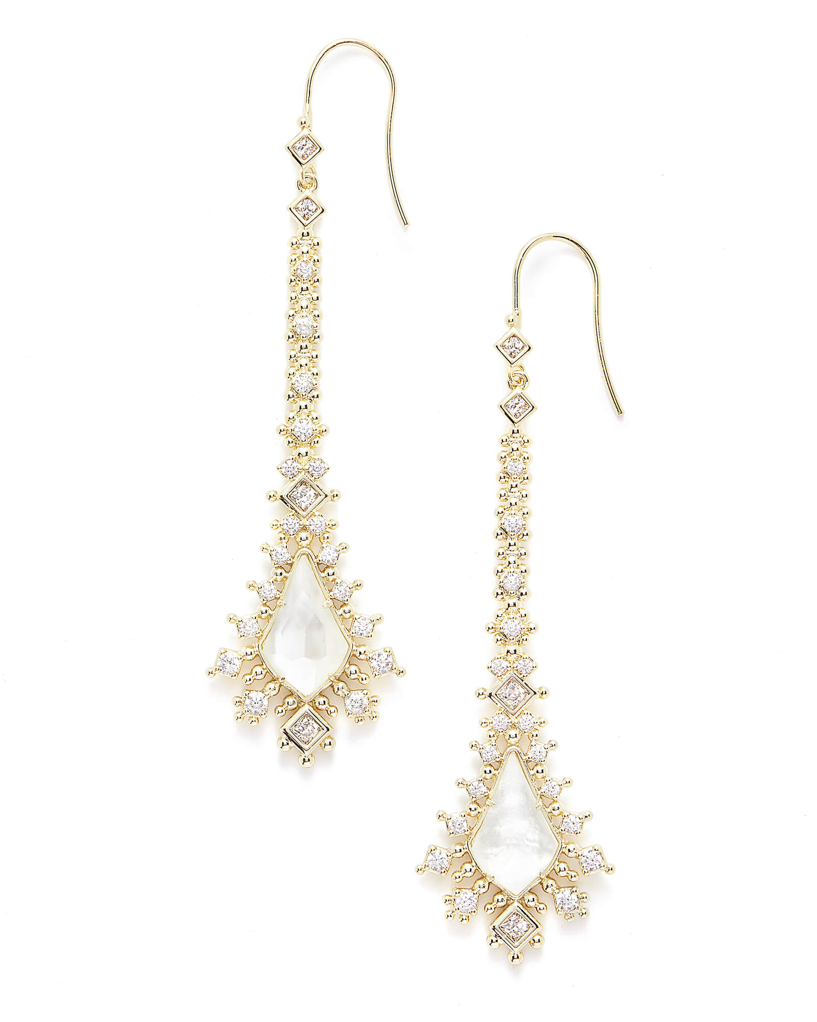 Reimer Statement Earrings in Gold