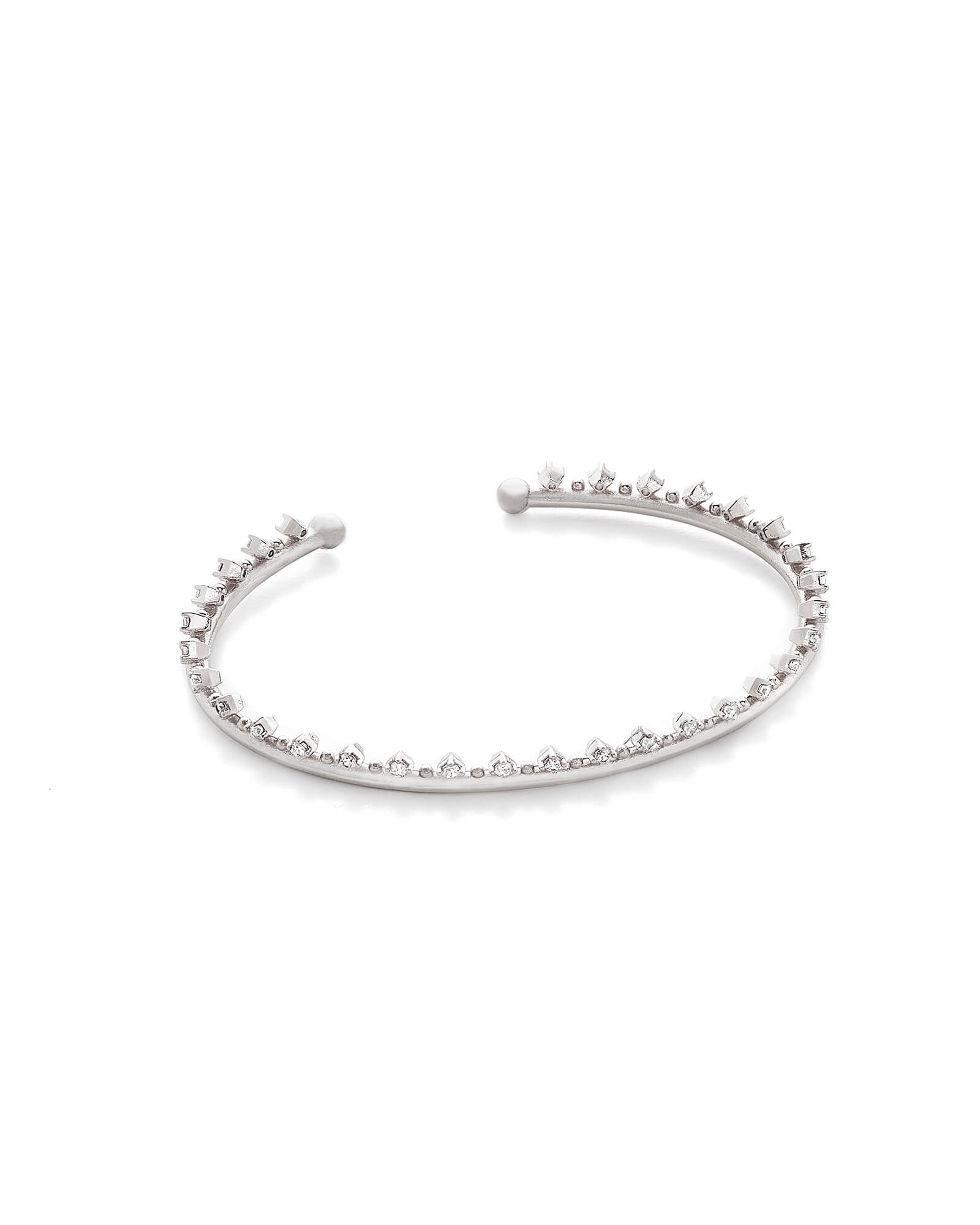Codi Pinch Bracelet in Silver