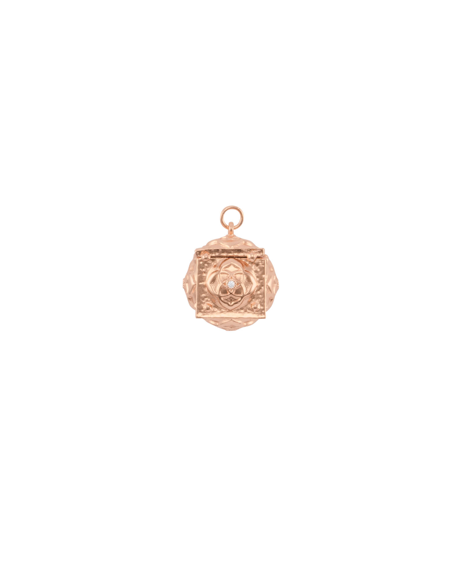 Keepsake Pendant Charm in Rose Gold