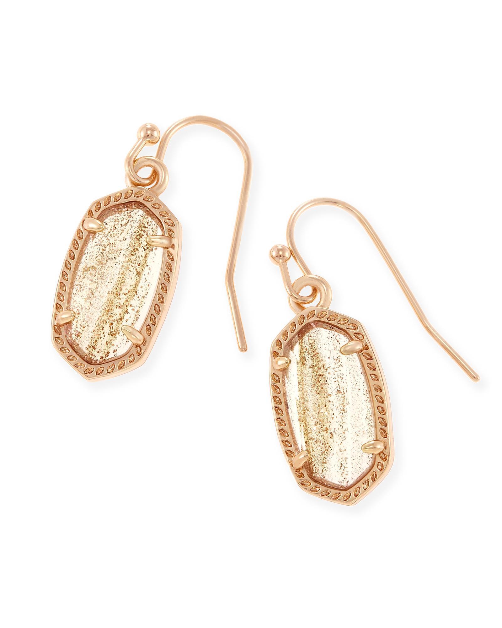 Kendra Scott Lee Earrings in 14k Rose Plated Brass ztIysDSQO1