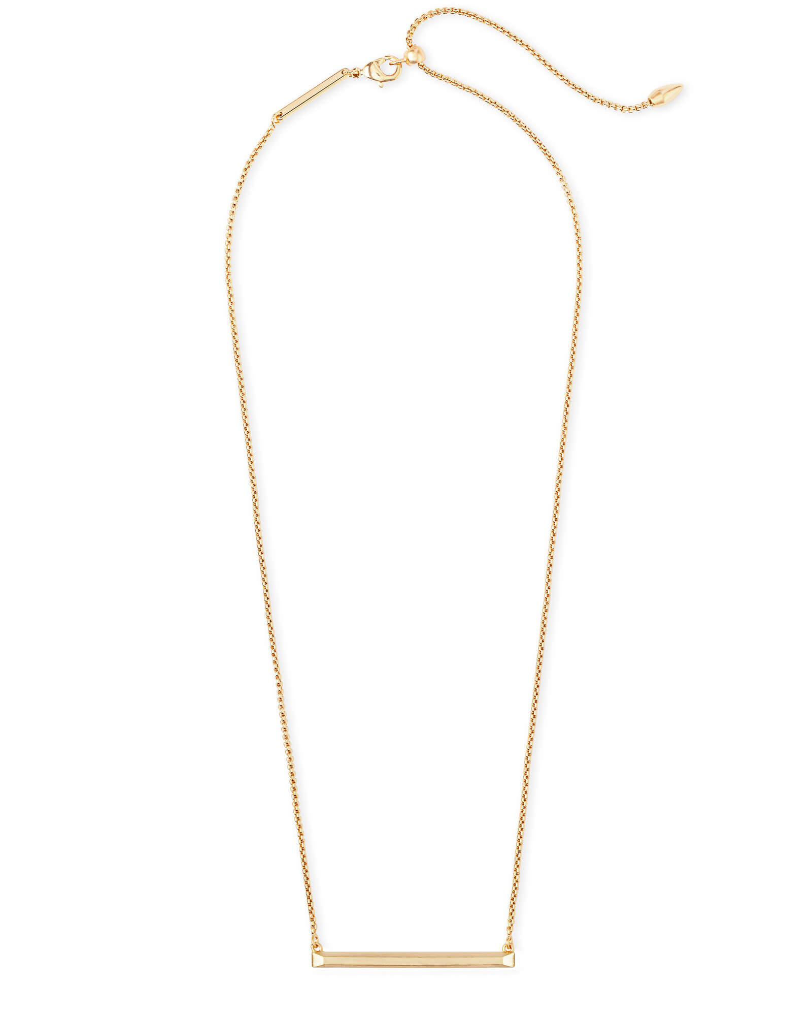 Kelsey Pendant Necklace in Gold