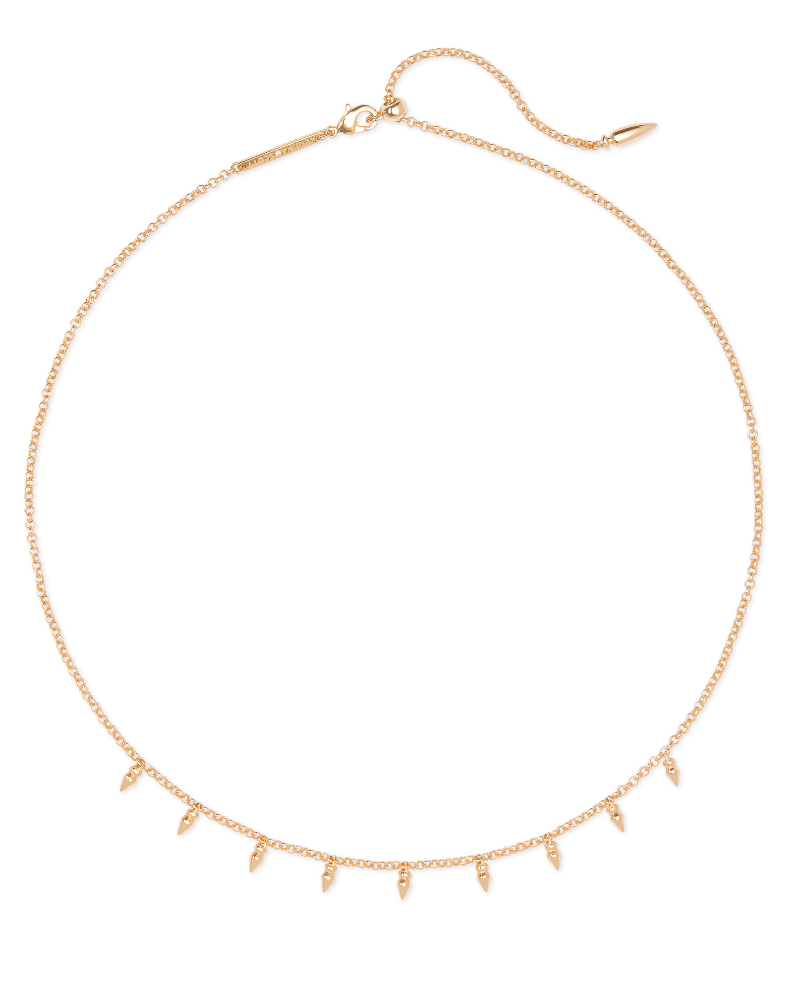 Addison Choker Necklace in Rose Gold
